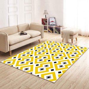 alfombras amarillas